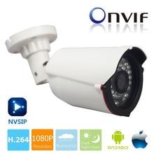 POE IP Камера 1080 P 2MP 1920*1080 безопасности Водонепроницаемый 720 P Full-HD сетевая камера видеонаблюдения Поддержка Android IOS P2P, Пуля CAM