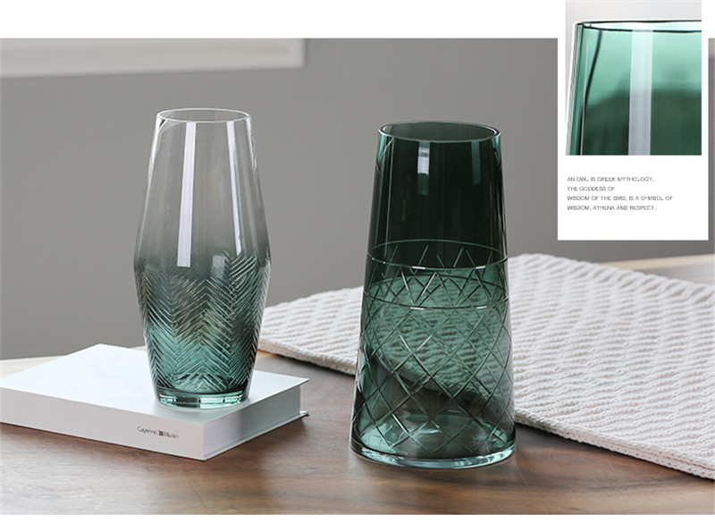 flower vase glass vase european flower vase plant pot08