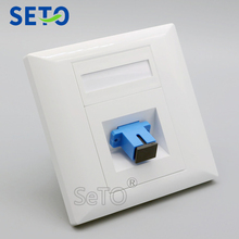 SeTo 86 Тип оптическая SC Панель розетка настенная пластина гнездо Keystone Лицевая панель SC крепление с SC муфта