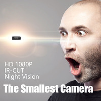 IR CUT Mini Camera Smallest 1080P Full HD Camcorder Infrared Night Vision Micro Camera Motion Detection XD Mini DV Camera