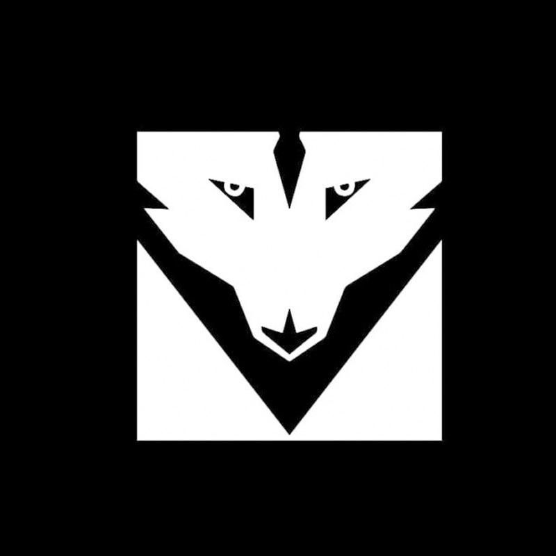 Schicksal Symbol Der Wolf Vinyl Aufkleber Autofenster Aufkleber In