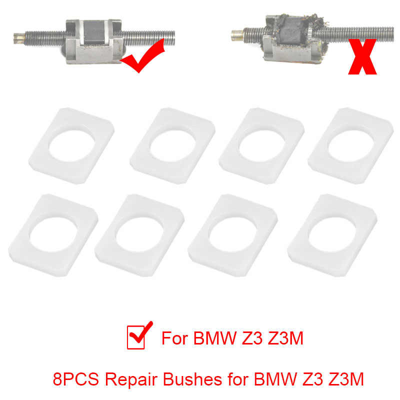 Seat Bushes Bushings Fix Worn Rocking Repair Upgraded Replacement for BMW Z3 Z3M