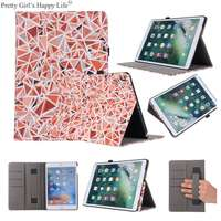 For Apple iPad Pro 10.5 inch 2017 Case Leather Flip Stand Cover For iPad Pro 10.5 inch 2017 Tablet Print Capa Funda+Stylus