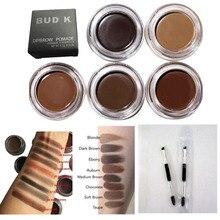 New Cosmetics Brown Color Eyebrow Enhancers Waterproof Eye Brow Filler Pomade Eyebrow Gel 7 Color Eyebrow