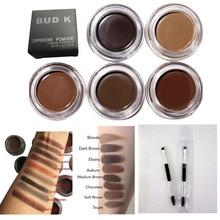New Cosmetics Brown Color Eyebrow Enhancers Waterproof Eye Brow Filler Pomade Eyebrow Gel 7 Color Eyebrow brush
