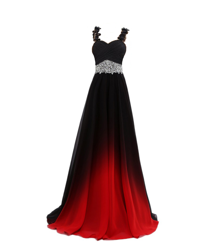Us 5249 25 Offgradient Chiffon Evening Dresses Vestido Longo Beaded Prom Dress 2019 Prom Long Elegant Dress For Plus Size Woman Prom Gown In Prom