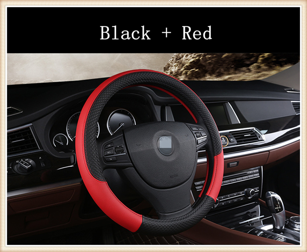 Aliexpress com buy fashion sport style leather car steering wheel cover for bmw 530i m 2009 2018 from reliable car steering wheel cover suppliers on