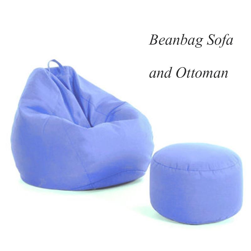 Beanbags Sofa Chairs And Ottoman Covers Without Filler Cushion For Garden Furniture Silla Zitzak Tatami Living Room Furniture