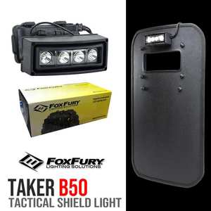 FOXFURY LED Lights Tactical Shields Light B50