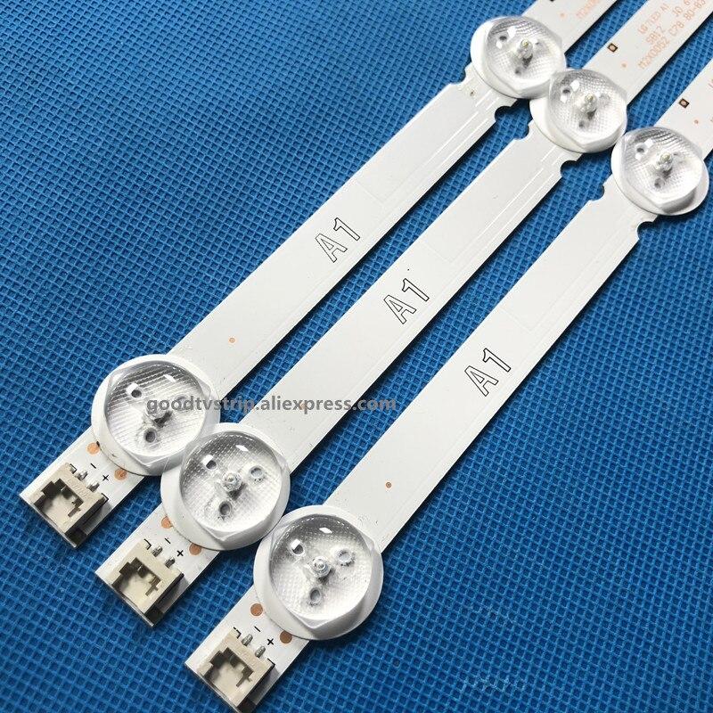3pcs LED Strip 7led For LG 32LN575S  32LN540S 32LN5408 32LN613V LC320DXE