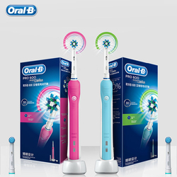 Oral B PRO600 3D Electric Toothbrush Replaceable Brush Heads Oral Hygiene Action Adult Teeth Whitening