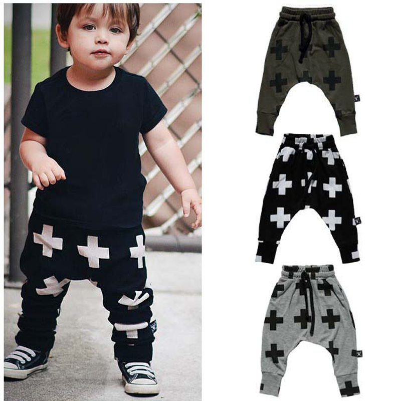 0-3Yrs Baby Boys Girls Cross Pants Fashion Infant Haroun Pants New 2015 Baby Clothing Pantalones Autumn Spring 95%Cotton Pant