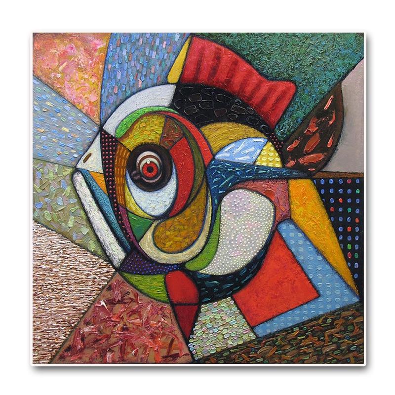 5D Diamond Embroidery Rhinestone Pasted diy Diamond painting Cross Stitch Kits Abstract paintings fish diamond mosaic