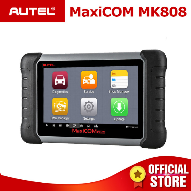 Special Price Autel MaxiCOM MK808 Automotive Diagnostic Scanner with IMMO/EPB/SAS/BMS/TPMS/DPF Service Code Reader for key programming