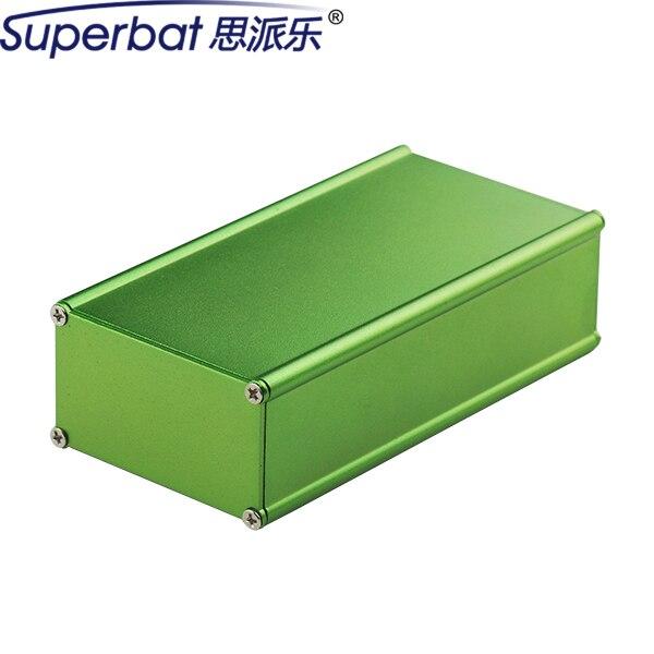"""Superbat НОВЫЕ 2.11 """"* 1.20"""" * 3.94 """"Зеленый Алюминиевый Корпус HIFI Ламповый Усилитель Шасси PCB Соединения Box Дело 53.5*30.5*100 ММ"""