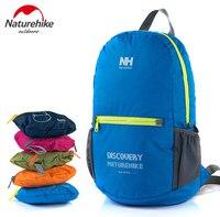 Naturehike Outdoor Camping Hiking Portable Foilding Backpacks For Women Men 15L