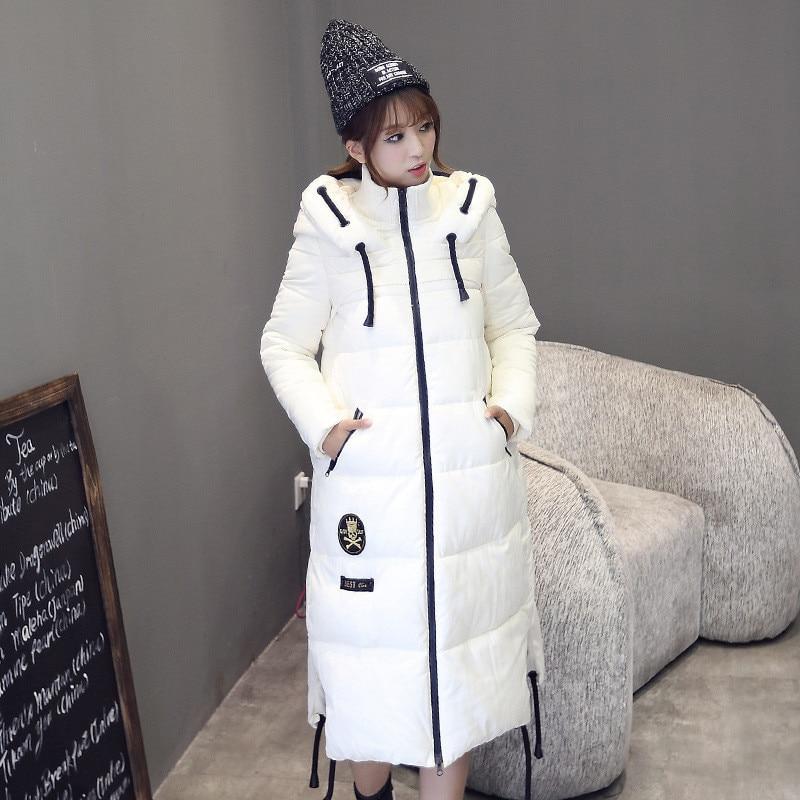 Parkas For Women Winter Warm Slim Hooded Long Cotton Padded Coat Thick Padded Jacket Women Women Jacket Winter TT224