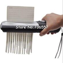 Креативный Ручной USB Powered бумажный триммер измельчители Papierversnipperaar для раздавливания офисных мини-документов Trituradora Papel