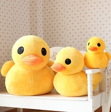 Large pillow girls graduation gift plush toy doll little duck doll