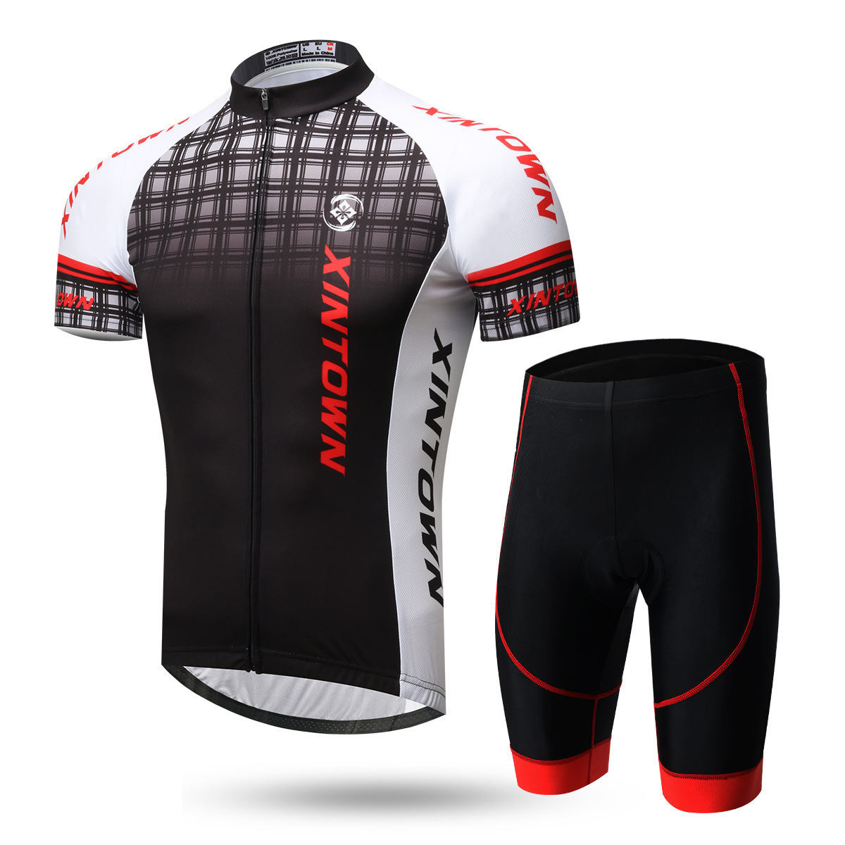 XINTOWN Men Summer Cycling Jerseys Pro Team Bicycle Clothing Bike Clothes Short Sleeve Sport Wear MTB Cycling Sets 3D Gel Pad xintown new 2018 spring cycling jersey set long sleeve 3d gel padded sets bike clothing mtb protective wear cycling clothes sets