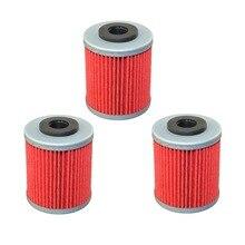 3 шт. масляный фильтр для KTM 400 SX 400/MXC 400 1999 2000 2001 2002 520 EXC 520 1999