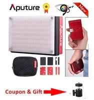 Aputure AL MX LED Video Color Temperature 2800 6500k TLCI/CRI 95+ on camera fill light Pocket sized Tiny LED Lighting