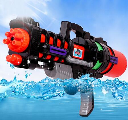 Jualan hebat!!! Mainan kanak-kanak berkualiti tinggi gim besar air sukan permainan menembak pistol tekanan tinggi soaker pam tindakan tarik mainan air gun