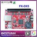 FK-DX5 feikong светодиодный контроллер карты 256*768 пикселей USB + ethernet порт открытый светодиодный экран электронные светодиодные перемещение текстовый знак