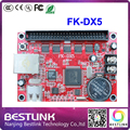 FK-DX5 feikong led controller card 256*768 pixel USB+ethernet port outdoor led display screen electronic led moving text sign
