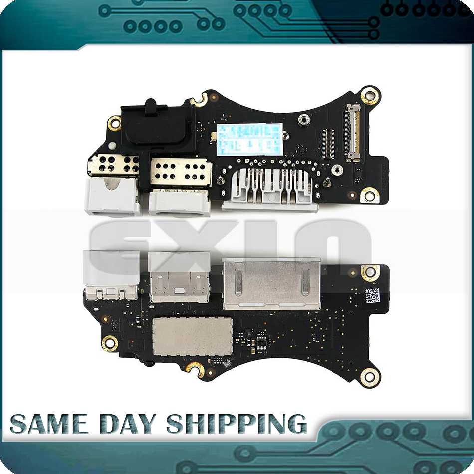 Original Laptop A1398 I/O USB HDMI SD Card Reader BOARD for MacBook Pro Retina 15 A1398 Usb Board 2012 2013 2014 2015 Year original 15 a1398 lcd screen display 2012 2013 2014 for macbook pro retina 15 4 a1398 lcd panel lp154wt1 sjav replacement