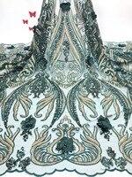 Нигерии кружевной ткани для свадьбы 2019 Африканский Французский кружевной ткани Высокое качество 3D персик аппликация с кружевной отделкой ...