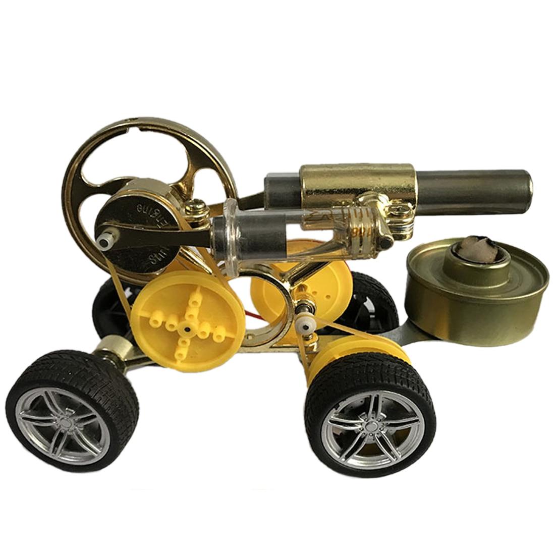 Stirling moteur conduite voiture modèle soutien enfants apprentissage Science ensemble classe enseignement jouet Kit Science éducatif apprentissage jouet - 2