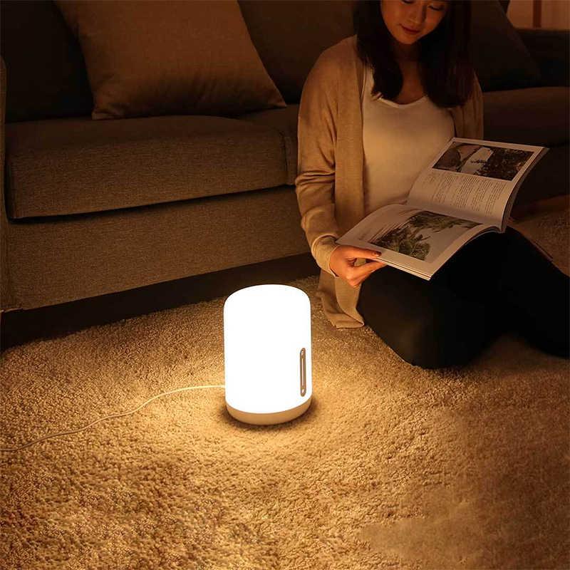 Xiaomi Mijia ночники 2 Smart стол привел ночной Bluetooth, Wi-Fi Touch Панель Управление mihome приложение свет для Apple homeKit Siri