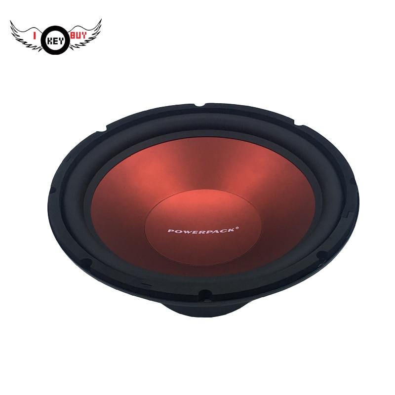 Moins cher prix 2500 watts 12 pouces Voiture Puissante Subwoofer Audio 4 ohm, Voiture Poinçon Coffre Acoustique haut-parleurs plus puissants woofers