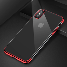 Baseus Hard  Transparent Plastic Case for iPhone X