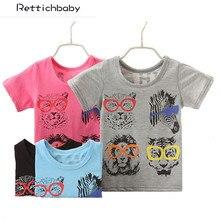 New boy's T shirt Spiderman Cotton Short-Sleeved T-shirt Printing Children's Cartoon Gray Kids Boys Child's Clothes