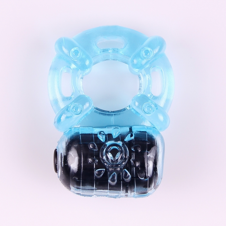 Men 39 s sexy vibration ring Adult sex products Delay lock ring 2pcs LR44 button batteries TPR ABS 1pcs sex toy 5 frequency vibrat in Penis Rings from Beauty amp Health