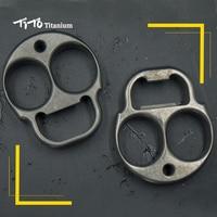 TiTo EDC titanium alloy multipurpose ET shape with aliens Bottle opener hand toy Tools meteorite outdoors tools Titanium spinner
