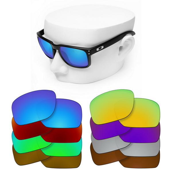OOWLIT Polarized Replacement Lenses For-Oakley Holbrook Asian Fit OO9244 Sunglasses