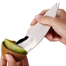 Fantastic Kitchen Kiwi Fruit knife 2 Pieces / Set Slicer Cutter Peeler Stripper Spoon Rind Removal Tool with
