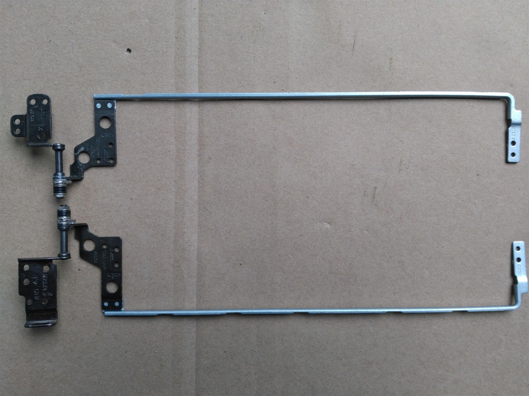 Nova dobradiça laptop lcd para lenovo 510-15ISK 310-15IKB 626015000138A 626015000141A par