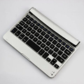 Case ultra slim mini bluetooth 3.0 teclado inalámbrico para ipad mini 1 2 3 4 stand case de aluminio material del abs