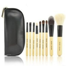 Pro 9 Pcs Woman Makeup Cosmetic Brushes Set Kit Tool Travel Pouch Case Bag