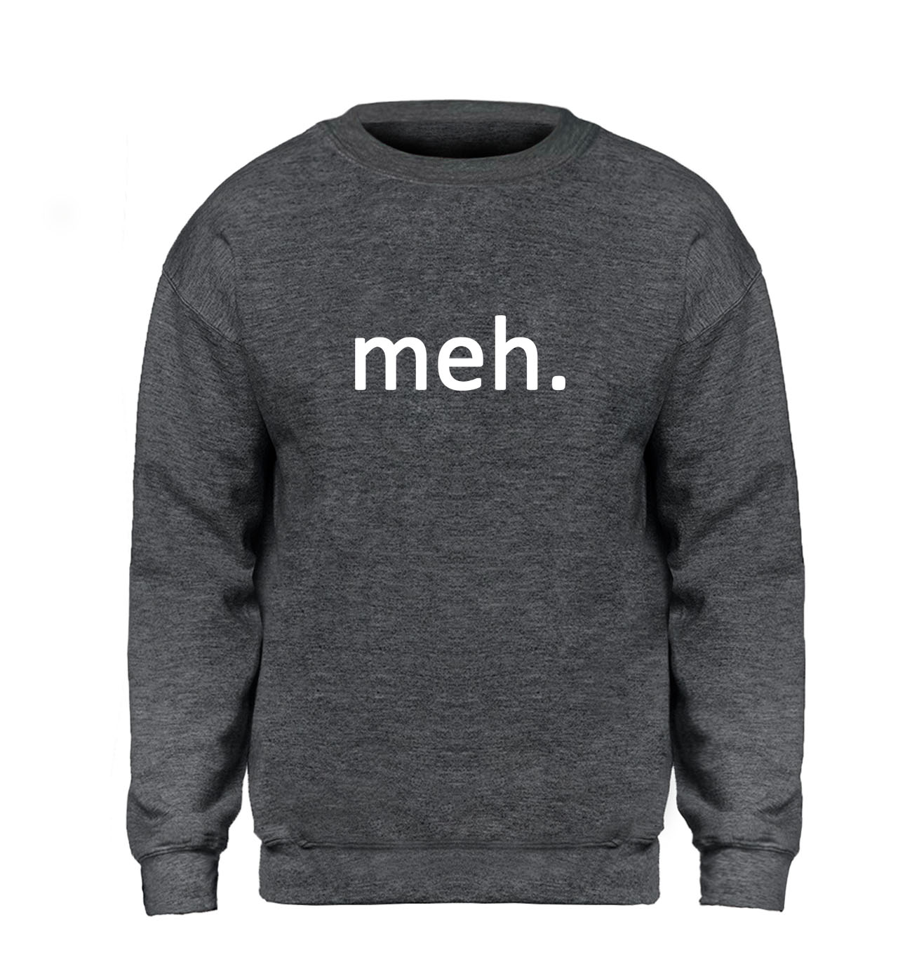 Meh Internet Geek Nerd Hoodie Men Funny Fitness Sweatshirt Hipster Sweatshirts Brand Winter Autumn Fleece Warm Gray Streetwear