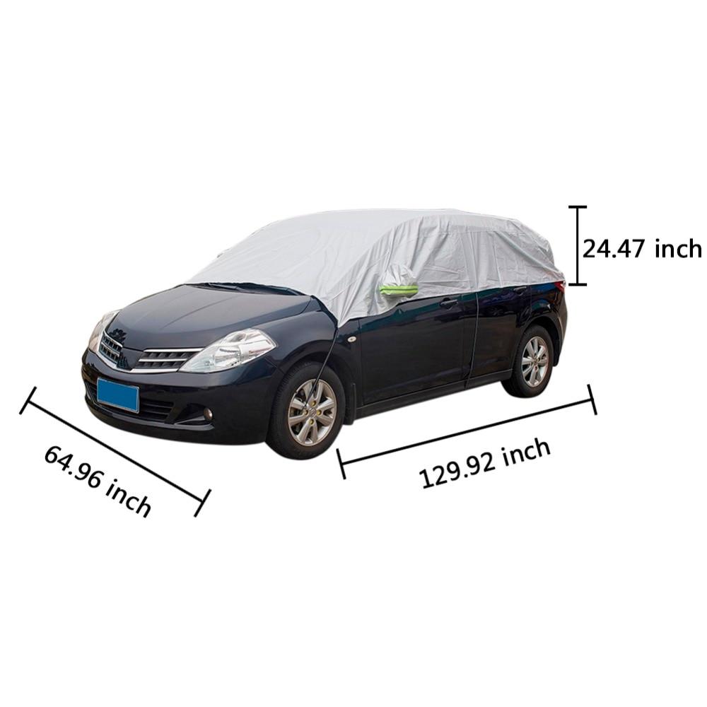 Ունիվերսալ մեքենայի ծածկոցներ, արևի - Ավտոմեքենայի արտաքին պարագաներ - Լուսանկար 6
