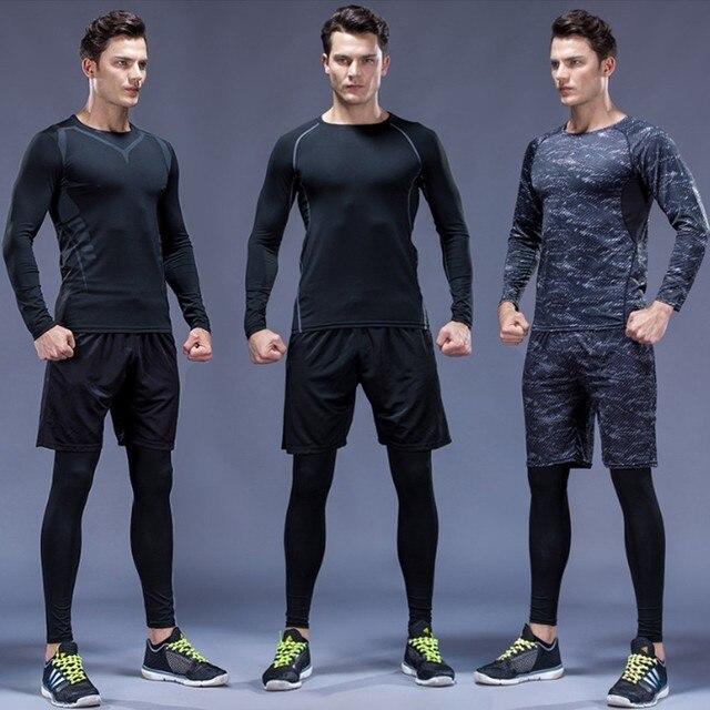 3 Pcs Men Sports Suit Set 1