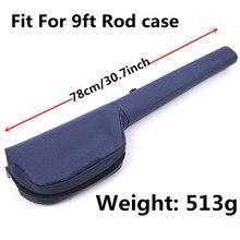Maximumcatch Fly Fishing Rod Tube Triangle Rod Case 78cm/30.7 inch For 9ft Fly Fishing Cordura Rod Storage