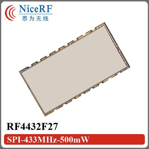 RF4432F27-SPI-433MHz-500mW