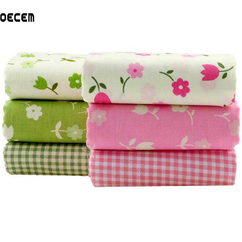 Bavlněné prošívané tkaniny Patchwork květinové tištěné - Umění, řemesla a šití