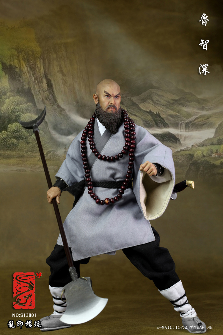 1/6 scale figure doll The Water Margin Monk Lu 12 Action figure doll Collectible Figure Plastic Model Toys 1 6 figure doll journey to the west monks the monkey king 2 tang monk 12 action figure doll collectible figure toy model